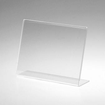 Stojánek akrylátový L horizontální