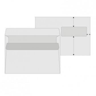 Obálky Elco C5 samolepicí - okénko vpravo