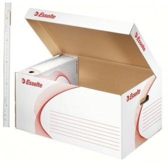 Kontejner archivační s víkem Esselte 128900 bílý