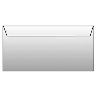 Obálky DL samolepicí - bez okénka / 1000 ks