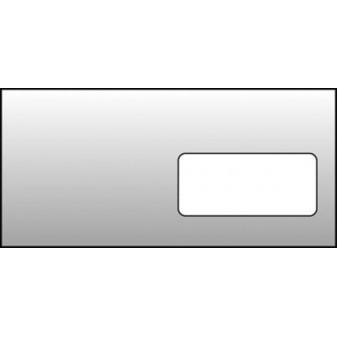 Obálky DL samolepicí - okénko vpravo / 1000 ks