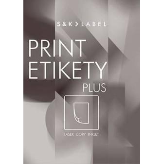 Print etikety A4 PLUS pro laserový a inkoustový tisk - 485 x 254 mm (40 etiket / arch)