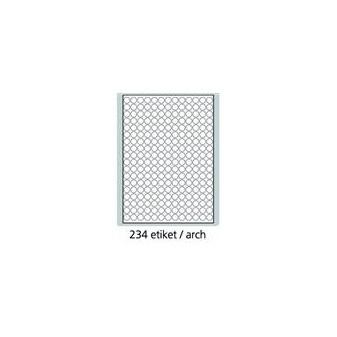 Print etikety A4 pro laserový a inkoustový tisk - kulaté průměr 14 mm (243 etiket / arch)
