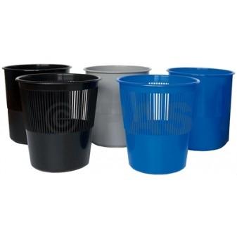 Koš odpadkový Office plný - modrá