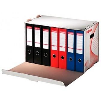 Kontejner archivační Esselte na 6 pákových pořadačů - bílý