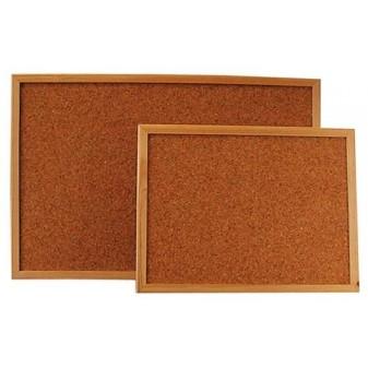 Tabule korková - 60 x 80 cm / dřevěný rám