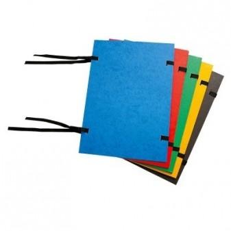 Desky spisové prešpánové A4 s tkanicí KAMPI OFFICE Rainbow Line