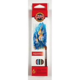 Aquarelové pastelky Mondeluz - 6 barev