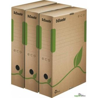 Box archivní Esselte ECO - hřbet 8 cm / hnědá