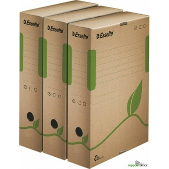 Box archivní Esselte ECO - hřbet 10 cm / hnědá