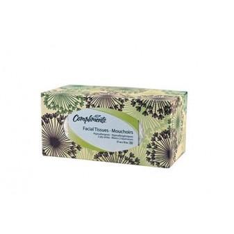 Kapesníčky papírové kosmetické - Compliments / dvouvrstvé / 250 ks