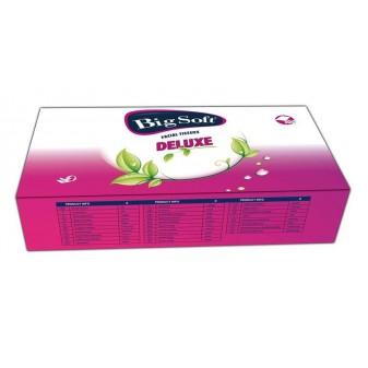 Kapesníčky papírové kosmetické - Big soft / dvouvrstvé / 100 ks