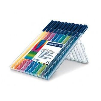 Popisovač Staedtler Triplus color - sada 10 barev