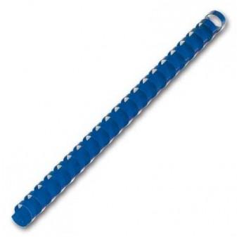 Kroužky pro kroužkovou vazbu 19mm modrá