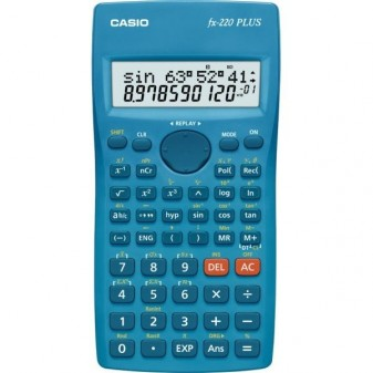 Kalkulačka vědecká Casio FX 220 plus - displej 10+2 místa