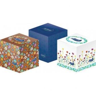 Kapesníčky papírové kosmetické Harmony - třívrstvé / 60 ks