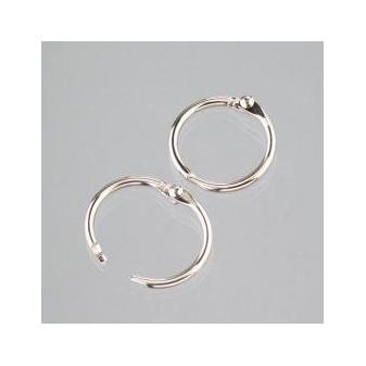 Kovové kroužky - knihařské 25 mm - 1ks