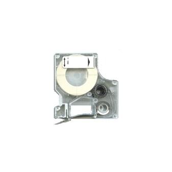 Páska Dymo D1 40913 9mm/7m černá/bílá