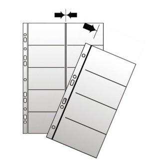 Obal náhradní do vizitkáře Karton P+P A4 polypropylen čirý