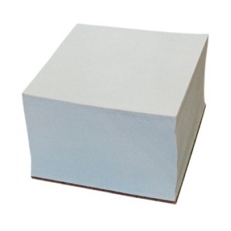 Špalíček lepený Dox 85x85x4cm bílá DONAU