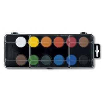 Barvy vodové 2patrové 12 ks Koh-i-noor mix barev