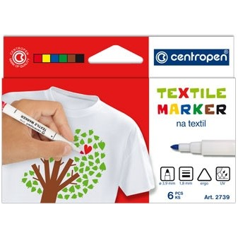 Značkovač textilní Centropen 2739