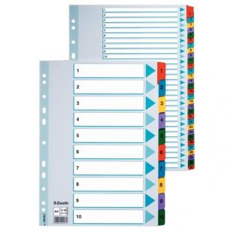 Rejstřík kartonový A4 A–Z Esselte 100166 Mylar