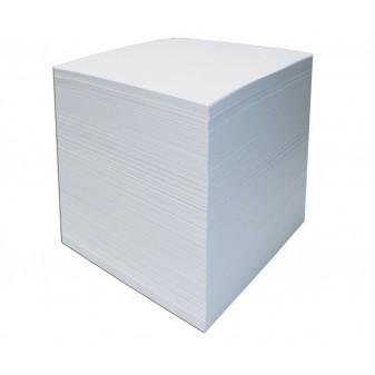 Špalíček nelepený 85x85x80 bílý