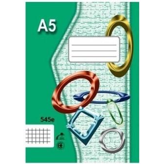 Sešit školní 545 A5/40l. čtver. KRPA