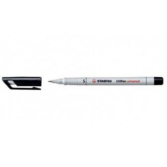 Popisovač smývatelný 04 mm STABILO OHPEN UNIVERSAL 851/46 černá